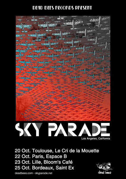 SKY PARADE on tour across France: October 20-25, 2010